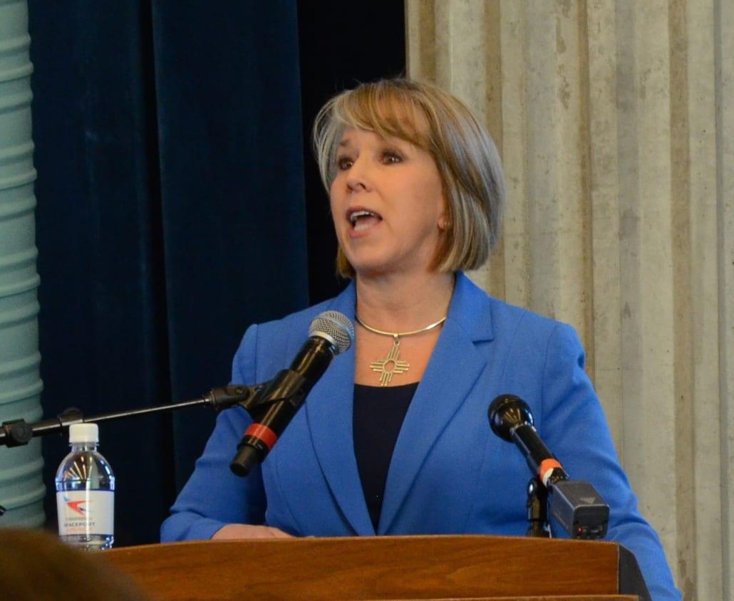Space Valley Summit Gov. Michelle Lujan Grisham speaking